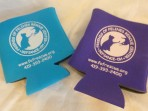 Cup Coozies with FFRC Logo